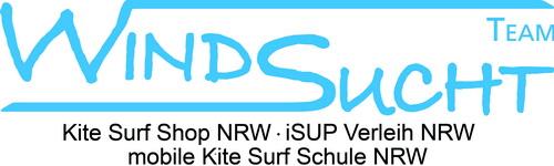 WindSucht mobile KiteSurfSchule NRW / KiteSurfShop NRW / iSUP Verleih NRW